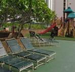Rec deck, kiddie play area