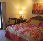 Relish direct lanai access off your queen bedroom.
