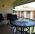 Lanai - table and chairs