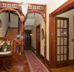 Cherry Staircase - Entrance Hall