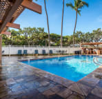 'Our' pool, just mere steps from the lanai.