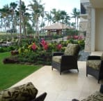 View from Lanai -  Just seconds to the pools and beach