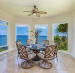 Dining Room Surrounded by Ocean Views