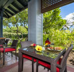 Enjoy breakfast on the lanai.