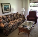 Comfortable couch and recliner