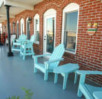 Hang out on the 2nd story Veranda.