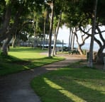 Pahoehoe Beach Park is adjacent to the house, with a great beach for little ones
