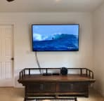 50 inches flat screen TV.