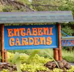 Garden Sign at Entrance