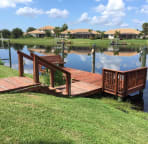 Private Boat Dock - Directly Off Back Yard