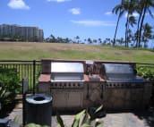 Poolside BBQ Area