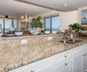 Renovated kitchen with Granite.