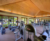 Maintain your cardio or strength training in the fully equipped fitness centre.