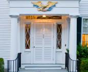 Captain Morse House Front Door on Morse Street