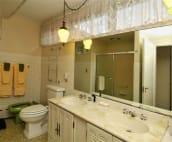 Spacious Bath - full tub, shower and bidet