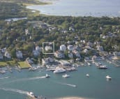 View of the house on Edgartown Harbor
