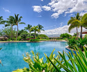 The large lagoon style pool is great fun for everyone.