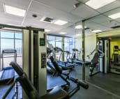 Onsite gym -free to our guests!