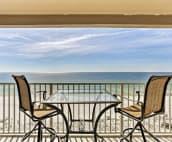 Balcony to eat, talk and enjoy