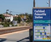 Coaster local train station platform