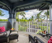 Enjoy your Kona coffee, watch the sunrise and experience breathtaking views.
