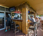 On site Sunset Grille - great food and drinks....convenient!