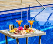 Why not enjoy breakfast by the pool?  So many options...