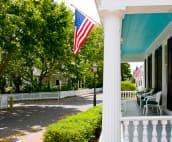 Captain Morse House Porch