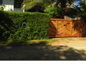 Front of The Blue House & Gate