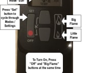 Heating Stove Remote