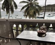 Front Balcony overlooking Cruz Bay Harbor