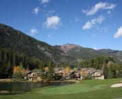 Nestled between the Golf Course and the Mountains.