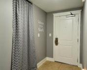 Light Blocking curtain in bunk room