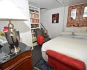 Library/Bedroom in the suite