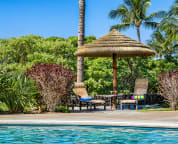 Soak up the sun by the large resort style lagoon pool or take a refreshing dip.