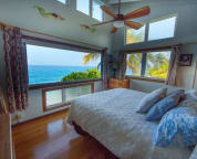 The Master bedroom has a King bed and the most amazing views!