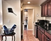 Studio Kitchenette with access to the Shared Living Room