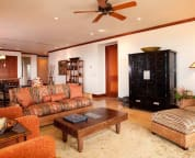 Spacious living area - sample villa
