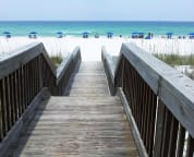 Coded beach entry Cabana Club Unit 305