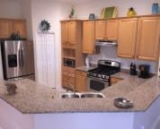 Kitchen - With Granite Countertops