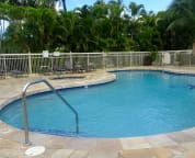 The upper pool also has a bar-be-que and a picnic area. Enjoy pool and jacuzzi.