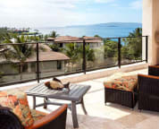 Private oceanview deck, 3rd floor villa - sample villa