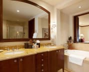 Master bathroom with deep soaking tub - sample villa