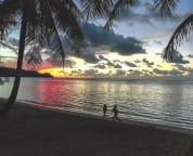 A magical sunset at Anini.