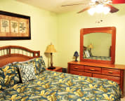 Comfortable King sized bedroom Cabana Club Unit 305