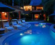 nighttime swim!