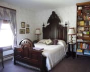 Lydia' Room - Carved Mahogany Bed circa 1865