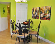 Dining Area Cabana Club Unit 306