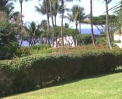 View to the ocean off lanai enlarged.