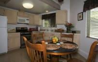 Full kitchen...bbq on patio